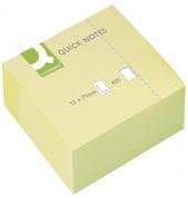 Haftnotizen 75x75mm 400 Blatt gelb