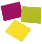 Haftnotizen 38x51mm 3x50 Blatt neon