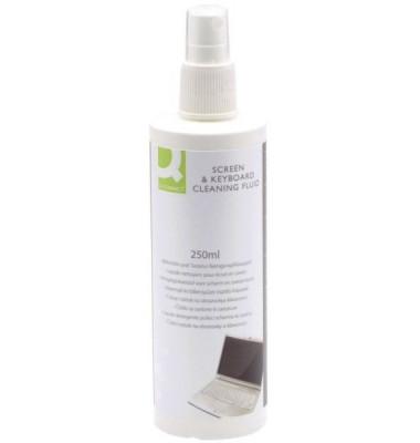 Bildschirm-Reinigungsspray antibakteriell für Bildschirme/Tastaturen Pumpspray 250 ml