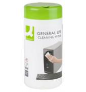 Reinigungstücher antibakteriell für Telefon/Oberflächen Spenderdose 100 Tücher