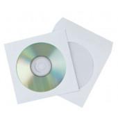 CD/DVD-Papierhülle m.Fenster 50St selbstklebend
