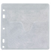 CD/DVD-PP-Hülle gelocht  40St