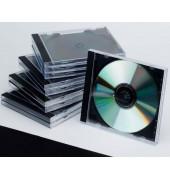 CD Jewel Case Leerhülle sw 10St