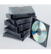 CD Slim Case Leerhülle sw 25St
