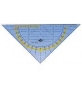 Geo-Dreieck Hypotenuse 160mm ohne Griff