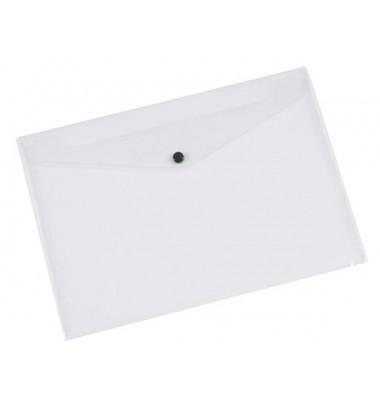 Umlauftaschen A4 transparent milchig