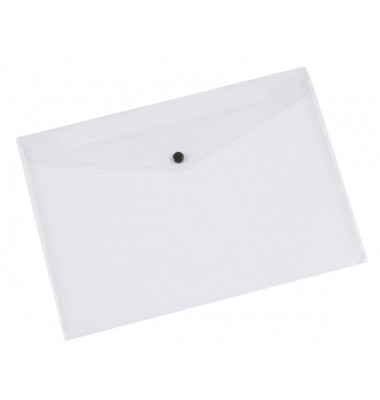 Dokumententasche A4 milchig/transparent bis 50 Blatt