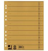 Trennblätter A4 gelb 230g 100 Blatt Recycling