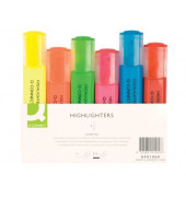 Textmarker 6er Etui farbig sortiert 2-5mm Keilspitze