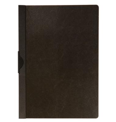 Klemmhefter KF00459, A4, für ca. 30 Blatt, Kunststoff, schwarz