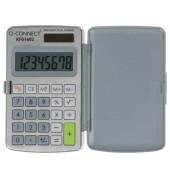 Taschenrechner Solar-/Batterie LCD-Display grau 1-zeilig 8-stellig