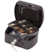 Geldkassette KF02601 Größe 1 schwarz 155x120x75mm