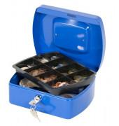 Geldkassette KF02623 Größe 2 blau 205x160x85mm