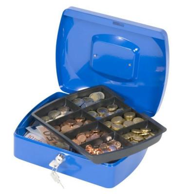 Geldkassette KF02624 Größe 3 blau 255x200x85mm