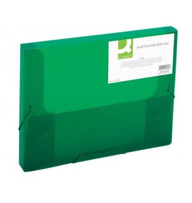 Sammelmappe KF02308, A4 Kunststoff, für ca. 250 Blatt, grün transparent