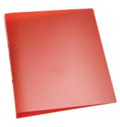 Ringbuch A4 rot-transparent 2-Ring Ø 25mm