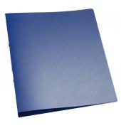 Ringbuch A4 blau-transparent 2-Ring Ø 25mm