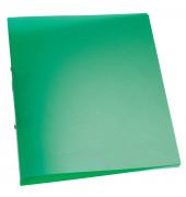 Ringbuch A4 grün-transparent 2-Ring Ø 25mm