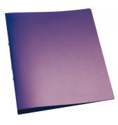 Ringbuch A4 violett-transparent 2-Ring Ø 25mm