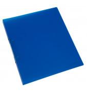 Ringbuch A4 blau-transparent 2-Ring Ø 16mm