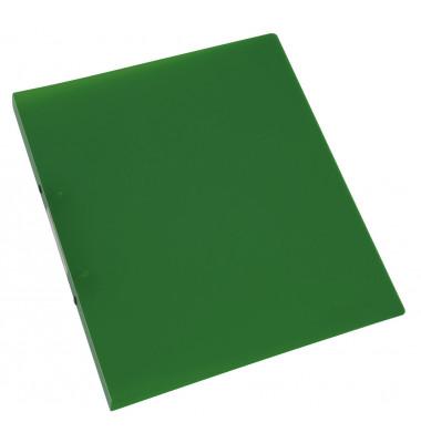 Ringbuch A4 grün-transparent 2-Ring Ø 16mm