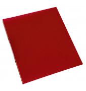 Ringbuch A4 rot-transparent 2-Ring Ø 16mm