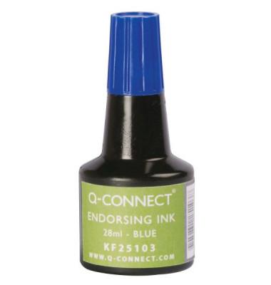 Stempelfarbe KF25103 ohne Öl 28ml Flasche blau