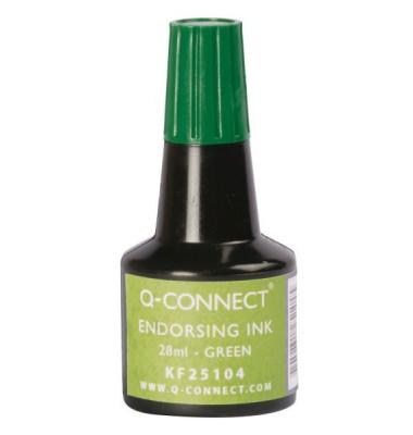 Stempelfarbe grün 28 ml