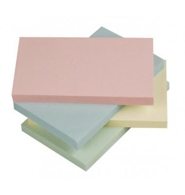 Haftnotizen 127x76mm 12x100 Bl pastell/sor
