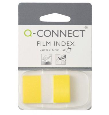 Index Haftstreifen 50 Bl im Spender gelb