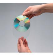 CD/DVD-Hüllen selbstklebend o.Lasche 100St