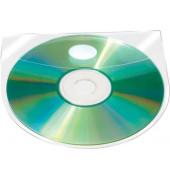 CD/DVD-Hüllen selbstklebend mit SK Lasche 10St