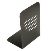 Buchstütze breit schwarz 2 Stück