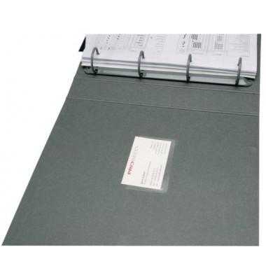 Visitenkartentasche sk 9,5x6,0cm 100 St