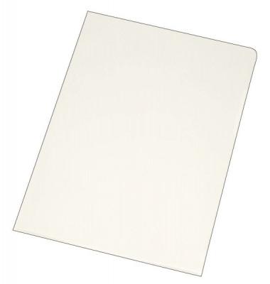 Sichthüllen KF01642, A4, farblos, transparent, genarbt, 0,12mm, oben & rechts offen, PP