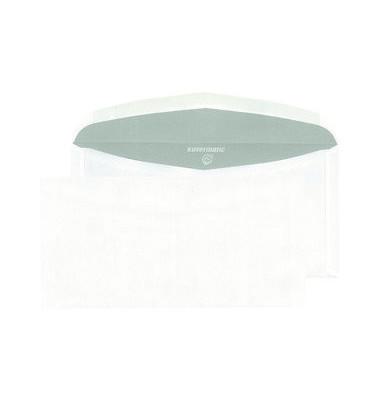 Kuvertierhüllen C6/C5 ohne Fenster nassklebend 80g weiß 1000 Stück