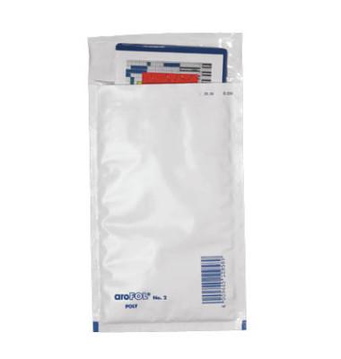 Luftpolstertaschen Poly No.2 A6 haftklebend weiß innen: 120x215mm 200 Stück