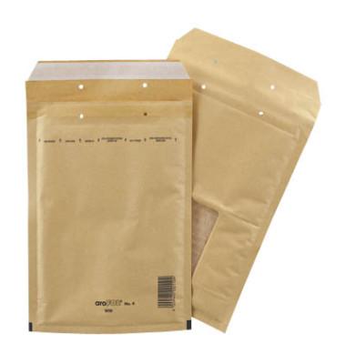Luftpolstertaschen WIN No. 4, 2FVAF000504, innen 180x265mm, mit Fenster, haftklebend, braun