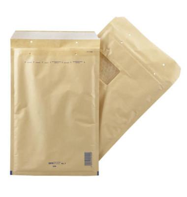 Luftpolstertaschen Win No.7 A4 mit Fenster braun 100 Stück