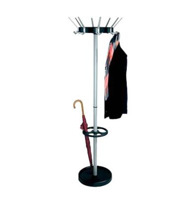 Garderobenständer Public Classic mit 8 Hut- und 16 Mantelhaken