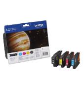 Druckerpatrone LC-1240 schwarz / cyan / magenta / gelb 4x ca 600 Seiten Multipack