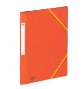 Eckspannmappe Eurofolio Prestige A4 600g orange