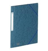 Eckspannmappe Eurofolio Prestige A4 600g dunkelblau