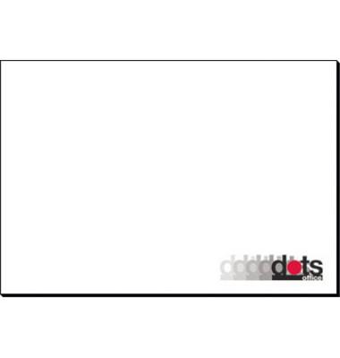 Schreibunterlage 59x40cm weiß blanko 30 Blatt