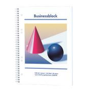 Businessblöcke DIN A5 kariert mit Rand innen