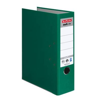 maX.file nature plus 10841518 grün Ordner A4 80mm breit