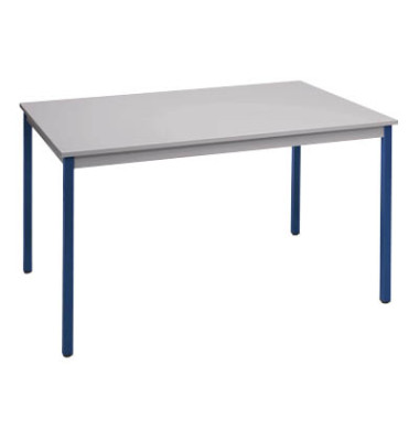 Schreibtisch T76RGBL grau rechteckig 70x60 cm (BxT)