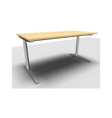 Schreibtisch All in One  1.028.100100 VC299597M ahorn rechteckig 160x80 cm (BxT) manuell höhenverstellbar