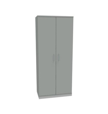Aktenschrank ClassicLine 1.028.507084 VC274372M, Holz/Stahl abschließbar, 5 OH, 80 x 182 x 44,2 cm, inkl. Montage, lichtgrau