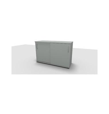 Aktenschrank ClassicLine 1.028.215024 VC276700M, Holz/Stahl abschließbar, 2 OH, 120 x 78 x 44,2 cm, inkl. Montage, lichtgrau